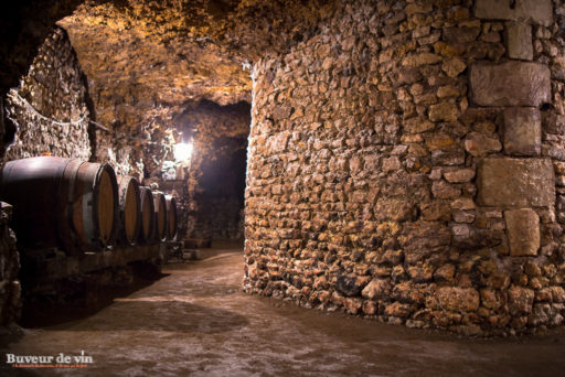 Cave enterree(sous-terraine) sylvain dittiere domaine porte saint jean, vigneron montreuil-bellay en appellation saumur champigny