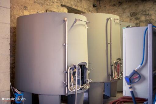 cuves cylindrique en beton non revetu - domaine grosbois